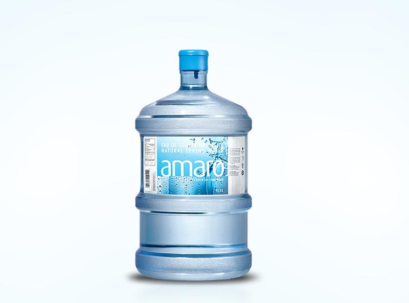 11.3 L natural spring water