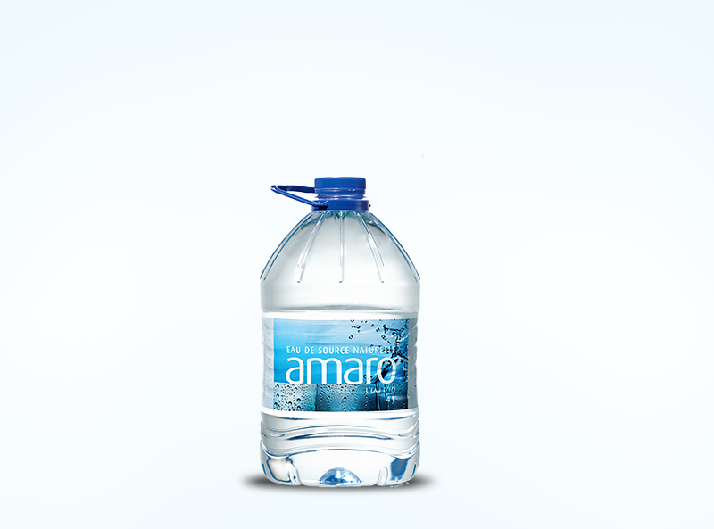 4 L clear natural spring water