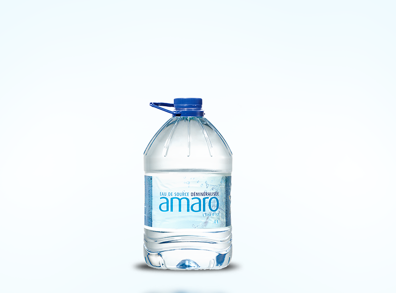 4 L demineralized spring water